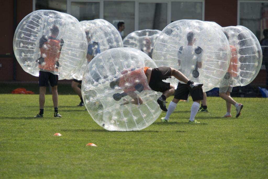 Bubble Football all'Antica sagra di Sant' Anna